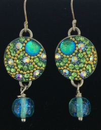 dichroic-green-crystal-earrings