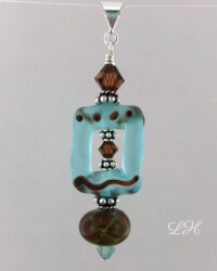 etched aqua brown pendant resize